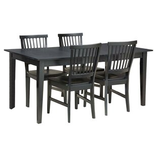 Ferryhill 5 Piece Dining Set Three Posts