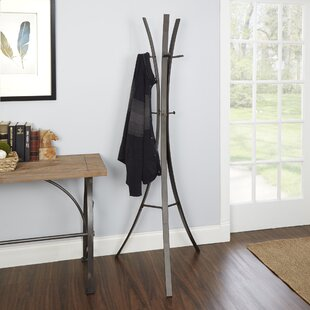 Ebern Designs Bump Metal Tripod Standing Coat Rack
