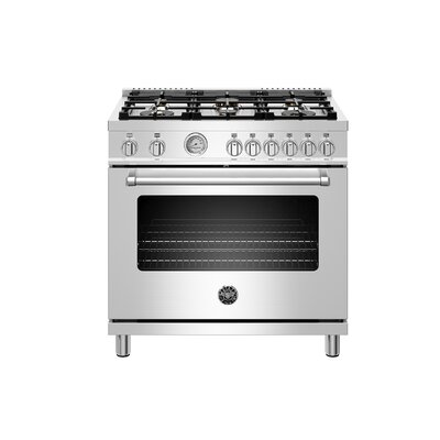 Master Series 36 Free-standing Gas Range with Griddle Bertazzoni