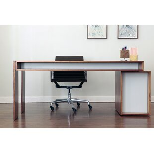 Units Solid Wood Executive Desk by ARTLESS