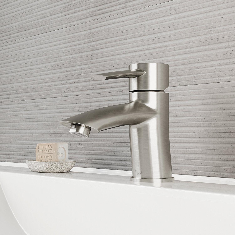 VIGO Bova Single Lever Basin Bathroom Faucet & Reviews | Wayfair