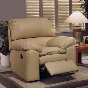 Omnia Leather Catera Recliner Image