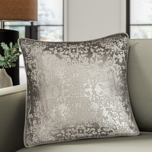 Craigsville Metallic Throw Pillow