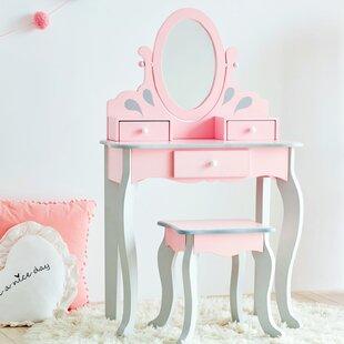 Little Princess Rapunzel Vanity Set with Mirror by Teamson Kids