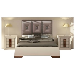 Konen Special Headboard Panel 4 Piece Bedroom Set