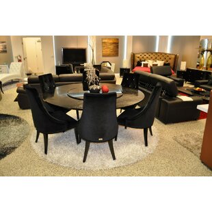 Everly Quinn Ajax Spiral Dining Table