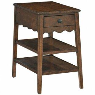 Bernhardt Vintage Patina End Table with Storage