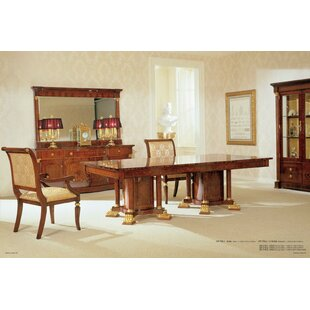 Priston Solid Wood Dining Table Astoria Grand