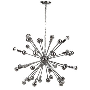 Brayden Studio Rao 20-Light Sputnik Chandelier