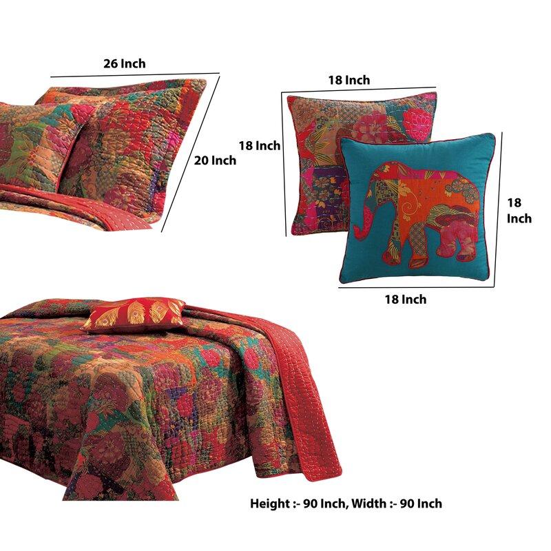 Bloomsbury Market Artrell Reversible Quilt Set Wayfair