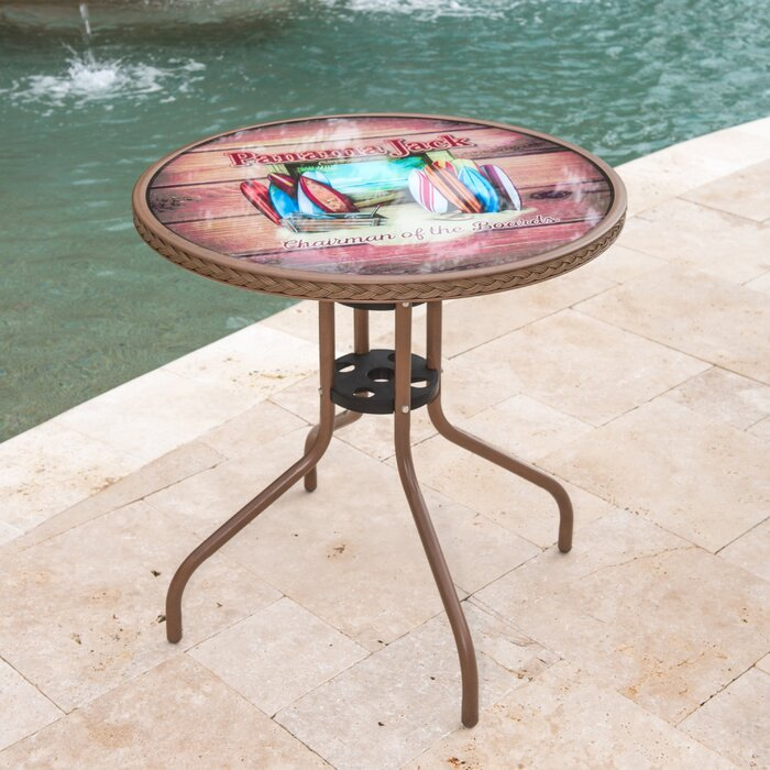 Terrific Island Breeze Glass Bistro Table Inzonedesignstudio Interior Chair Design Inzonedesignstudiocom