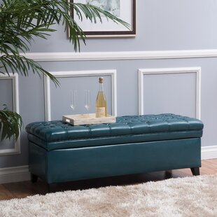 Cullins Tufted Storage Ottoman by Alcott Hill
