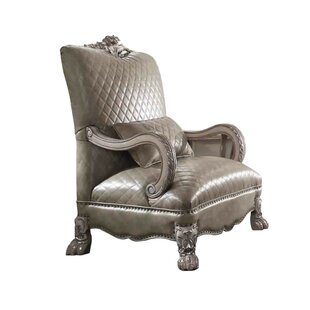 Chamorro Leatherette Armchair
