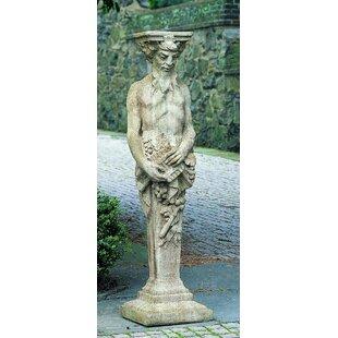 Campania International Tall Satyr Statue
