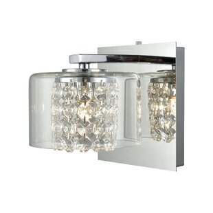 Amaya 1-Light Bath Sconce by House of Hampton
