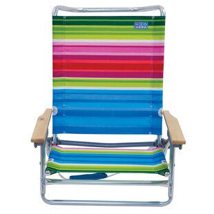 Rio Brands Classic Reclining/Folding Beac..