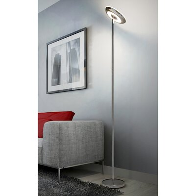 Silver Amp Chrome Shade Floor Lamps You Ll Love In 2019