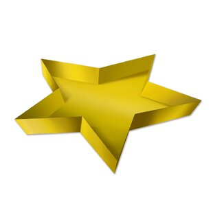 Awards Night Plastic Star Tray (Set of 24)