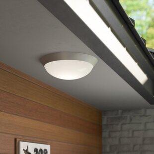 Capp 2-Light Outdoor Flush Mount