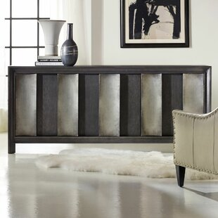 Melange Channeled Console Table by Hooker Furniture
