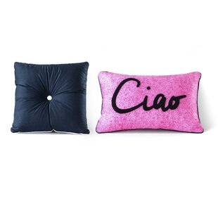 Arrighetto Cotton 2 Piece Decorative Pillow Set (Set of 2)