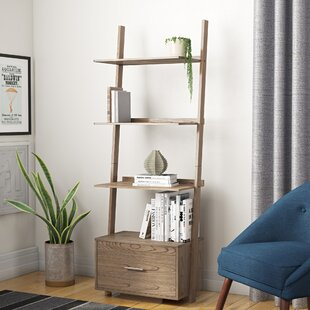 Dominique Ladder Bookcase by Winston Porter Spacial Price