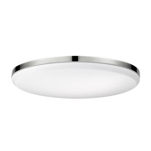 Orren Ellis Hudson Yards LED Integrated Flush Mount