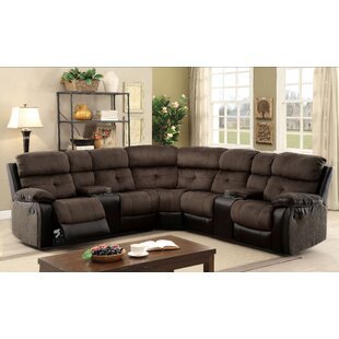 Great Price Marksbury Reclining Sectional by Latitude Run Reviews (2019) & Buyer's Guide