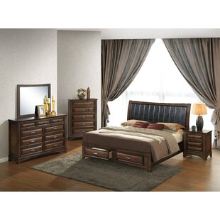 North Adams Queen Platform 5 Piece Bedroom Set