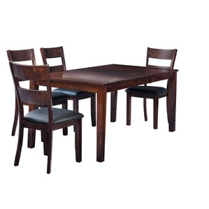Boswell 5 Piece Dining Set by TTP Furnish