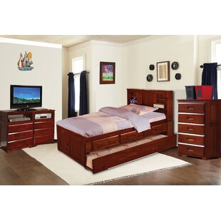 Wales Mates and Captains 3 Piece Bedroom Set