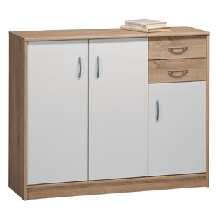 Satterfield 2 Drawer Combi Chest By Mercury Row