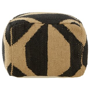 Adam Hemp Pouffe By World Menagerie