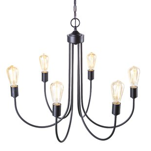 Woolverton 6-Light Chandel..