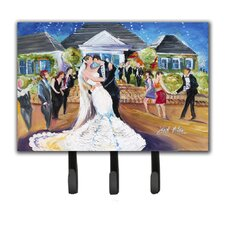 Our Wedding Day Key Holder by Caroline's Treasures