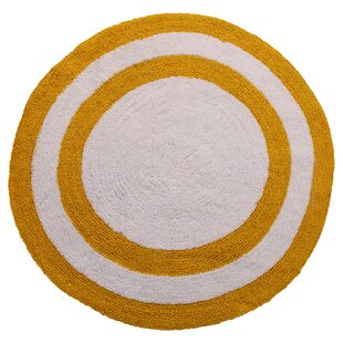 100% Soft Cotton Reversible Two Tone Bath Rug