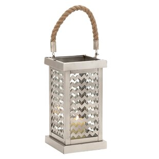 Read Reviews Stainless Steel Lantern By Urban Designs