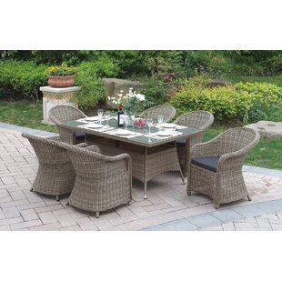 7 Piece Dining Set by JB Patio Herry Up