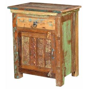 Wyandotte 1 Drawer Nightstand by Bloomsbury Market