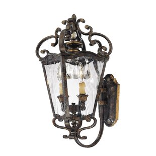 Best Reviews Terraza Villa 2-Light Outdoor Sconce By Metropolitan by Minka