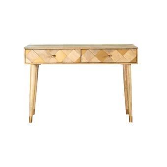 Latitude Run Azreal 47 25 Solid Wood Console Table Wayfair