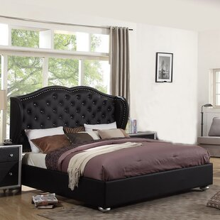 Madisyn Upholstered Platform Bed by Alcott Hill