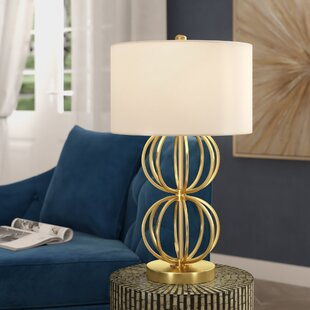 Eaman Stacked Orb 27.25 Table Lamp