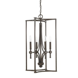 Three Posts Berns 4-Light Square/Rectangle Chandelier