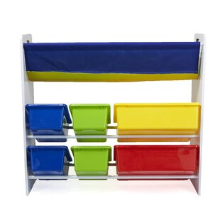 Best Reviews Sling Book Shelf and Toy Organizer ByMind Reader