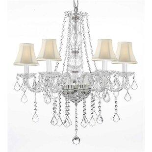 House of Hampton Kersten 5-Light Shaded Chandelier