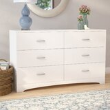 Poulson 6 Drawer Chest by Andover Mills™