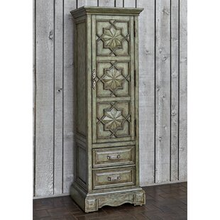 Handcrafted 2 Drawer Accent Cabinet by Ambella Home Collection