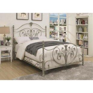 Larosa Metal Panel Bed by Rosd..