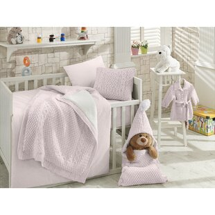 Confident Ups Free 5 Pieces Baby Bed Linen For Children 3d Brand Baby Crib Bedding Set Quilt Sheet Bumper Bed Skirt Included New Varieties Are Introduced One After Another Bedding Sets